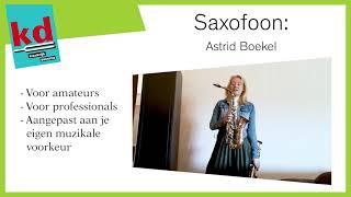Saxofoon Open Huis 2021