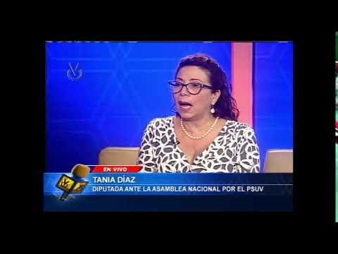 Entrevista Venevisión: Tania Diaz, Diputada ante la AN - PSUV - 13 de Octubre del 2021