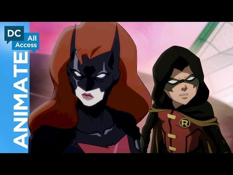 Inside Batman: Bad Blood With the Cast