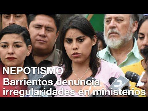 Nepotismo salpica a tres ministerios; CC denuncia