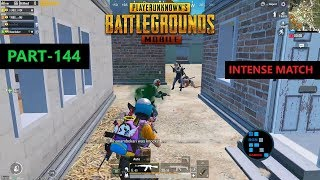 PUBG MOBILE | ONE AMAZING REVIVE SAVES THE GAME, INTENSE MATCH