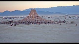 Burning Man 2018 4k Drone Views
