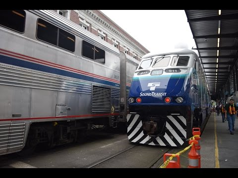 Riding Sounder & Amtrak: Part 1