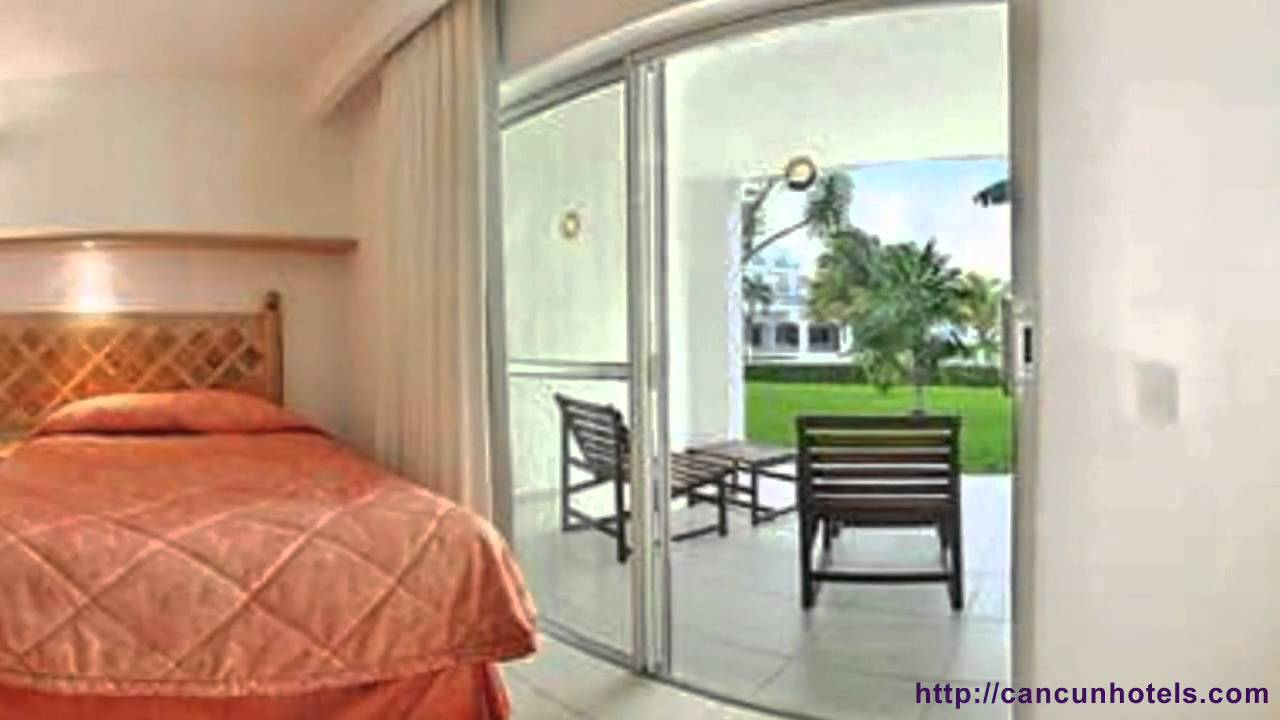 Cancun hotels beachscape kin ha villas and suites youtube for Villas kin ha