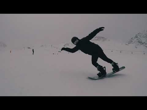 Shaun White Riding Powder in Austria, Training for 2018 Winter Olympics
