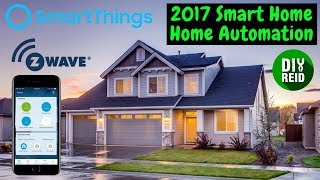 My 2017 Smart Home - SmartThings Home Automation Setup