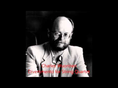 Charles Wuorinen: Divertimento for String Quartet