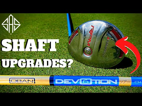 SHOULD YOU BUY EXPENSIVE UPGRADED SHAFTS IN SECOND HAND GOLF CLUBS!?