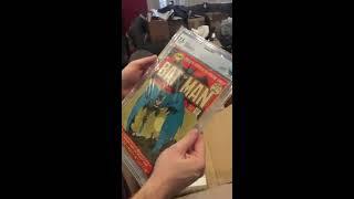 45 comic cbcs unboxing dec 4 2016 high grade keys batman collection not cgc