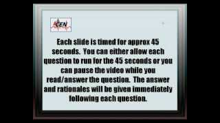 CEN Review ~ 50 Practice Questions ~ Mixed Topics