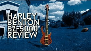 An Active 5 String for 320 bucks? Harley Benton BZ-5000 Review
