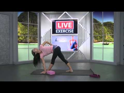Iyengar Yoga for Posture and Alignment on LiveExercise