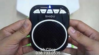 [Review] Đánh giá máy trợ giảng có dây SHIDU SD-S308 giá rẻ
