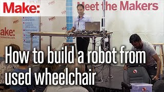 How to build a robot from used wheelchair - Snehesh Shrestha, Ashwin Vijayakumar