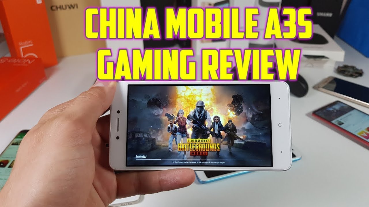 ed58133cfd0 China Mobile A3s Gaming review  Android games Snapdragon 425 PUBG ...