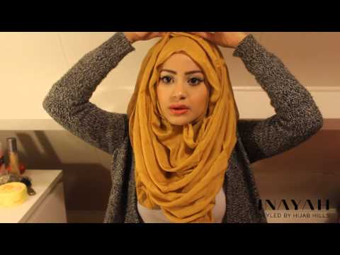 How To Style Your INAYAH Scarf | Hijab Tutorial #4 thumbnail