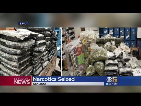 San Jose Police Arrest 4 Suspects In Massive Drug Operation