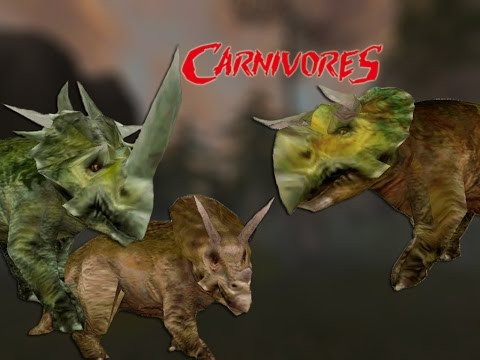 CERATOPSIANS! – Carnivores 2 Mods | Carnivores Mods Showcase Series