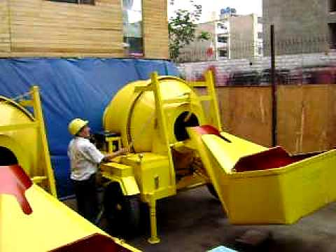 Mezcladora de concreto tipo tolva youtube - Mezcladora de cemento ...