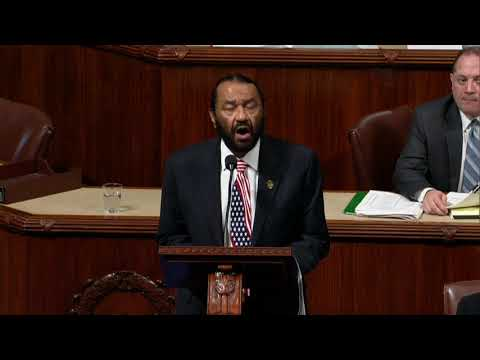 Rep. Al Green reads articles of impeachment on House floor