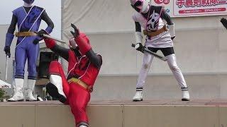 2015年12月6日に行われた「ニンニンジャー」のキャラクターショーです。