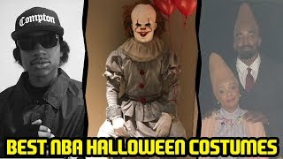 TOP 10 NBA HALLOWEEN COSTUMES SQUAD FT. LEBRON J.R. SMITH! NBA 2K18 MYTEAM