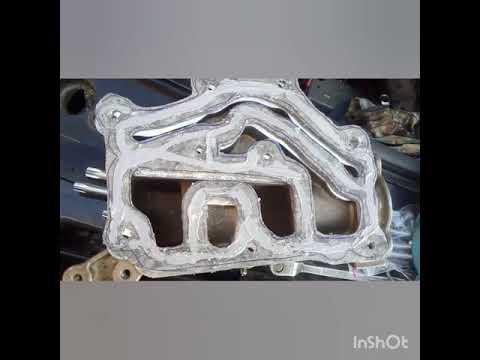 Замена пластикового корпуса термостата на силуминовый, меган 2.