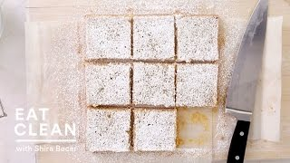 Lemon-coconut Tofu Squares - Eat Clean With Shira Bocar