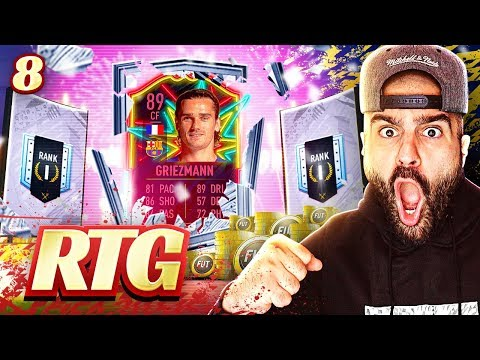 OMG OTW GRIEZMANN PACKED! BEST RANK 1 REWARD EVER #FIFA20 Ultimate Team Road To Glory #08