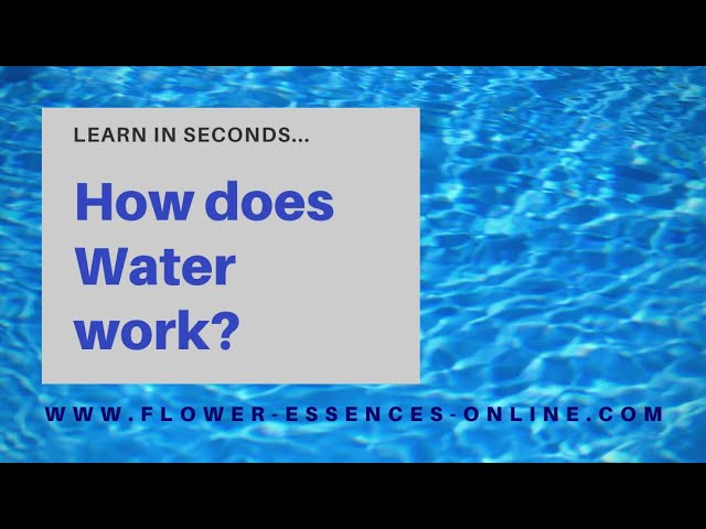 How does Water work