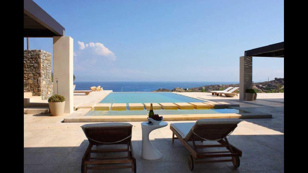 Mykonian Architecture Luxury Villa With Breathtaking Sea