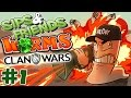 Worms: Clan Wars w/ Friends (21/9/2015) #1