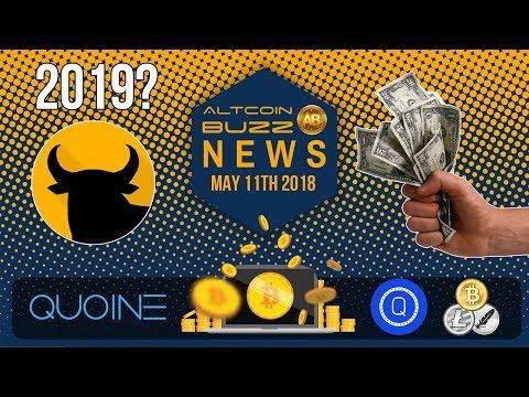 Altcoin News - Bitcoin 2019 Prediction, Iran & Cryptcurrency, QUOINE and LIQUID Platform, QASH