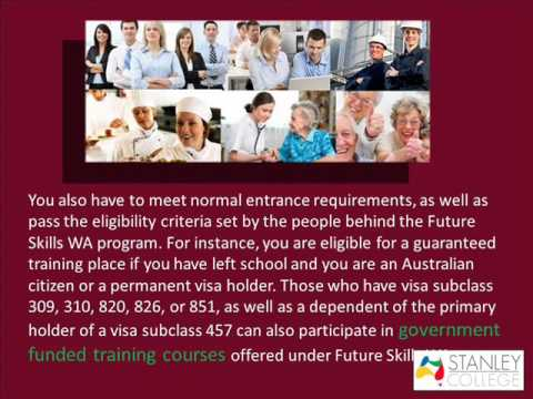 requirements-to-be-part-of-government-funded-training-courses