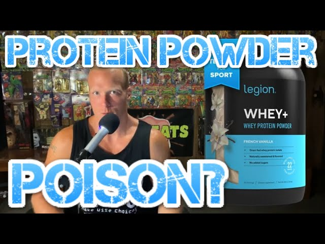 Switching Protein Powder! Giving Up on Legion Athletics Whey+?
