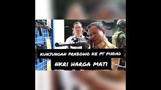 Gambar cover Menteri Pertahanan Bapak Prabowo mengadakan kunjungan di PT. Pindad (Persero).
