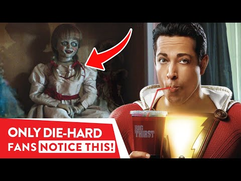 Shazam: All Easter Eggs & References You Might Have Missed⭐  OSSA Review