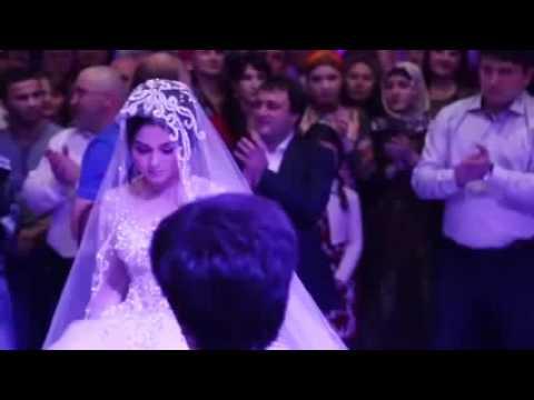Свадьба Танец жениха и невесты Дагестан