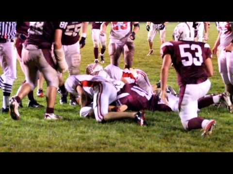 2010 Antigo Homecoming Football~ Antigo fumbles