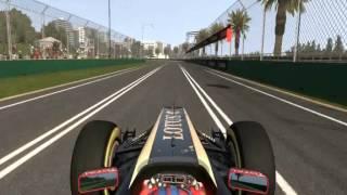 [F1 2011] Lotus-Renault E20 (Skins - Quick Race @ Melbourne) [HD]