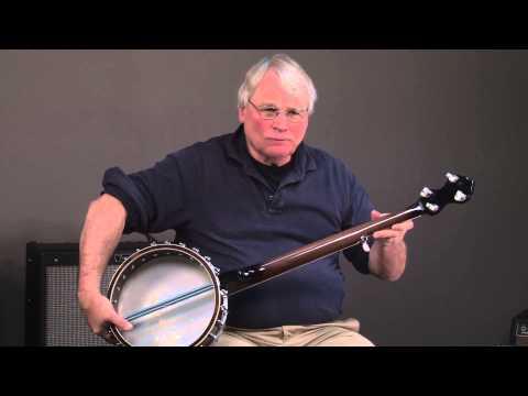 Goldtone WL 250+ Old Time White Ladye Open Back Banjo - YouTube