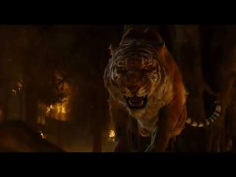 Battaglia finale tra Shere Khan e Mowgli-Il Libro della Giungla(2016).