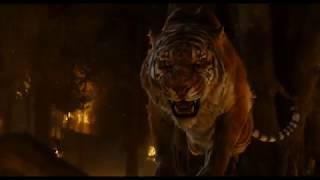 Battaglia finale tra Shere Khan e Mowgli Il Libro