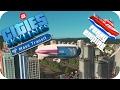 Cities Skylines Gameplay: BLIMPS HIGH DENSITY Cities: Skylines MASS TRANSIT DLC Ferry Empire #7