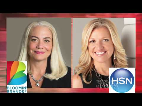 World's 100 Most Powerful Women: Mindy Grossman and Liz Smith at The University of Tampa