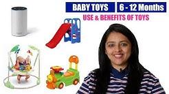 बच्चों के लिए खिलोने    BABY TOYS FOR 6-12 MONTHS