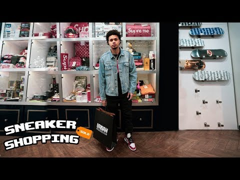 Shopping in the World's Best Sneaker Store!