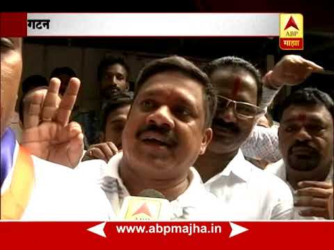Dadar, Mumbai : MNS members reacting after their 6 corporators went into Shivsena