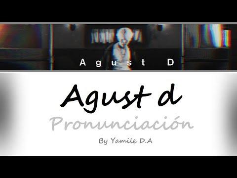 Agust D - Agust D | Letra fácil (Pronunciación)