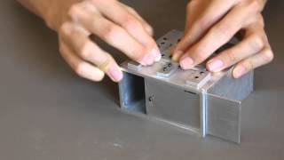 Homemade Spring Loaded Metal Puzzle Box